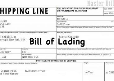 Vận đơn – bill of lading là gì?