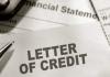 Bộ chứng làm thanh toán LC Letter of credit