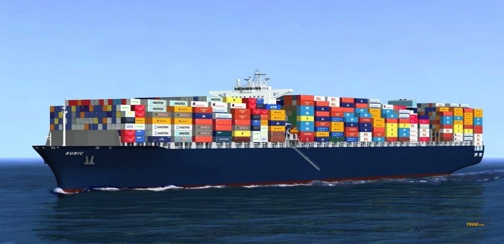 Thủ tụcgiao nhận hàng hóa xuất khẩu đường biển với hàng nguyên container FCL
