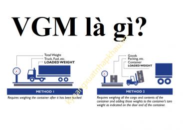 Vgm là gì? Những vấn đề cần lưu ý khi khai báo Vgm